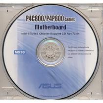 Cd Drivers Original Placa Mae Asus P4c800 P4p800 Frete Grati