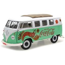 Kombi 1962 Coca-cola Motor City Classics 1:18 Verde 434478
