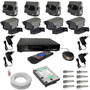 Kit 4 Micro Câmeras Para Casa E Comercio-dvr Luxvision Hdmi