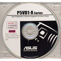Cd Drivers Original Placa Mae Asus P5vd1-x Series Frete Grat