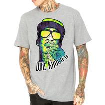Camisa Camiseta Wiz Khalifa Gang Swag Rap Hiphop