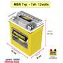 Bateria Moto Cbx 200 Strada Xr200 Nx150 350 Sahara Neo 105