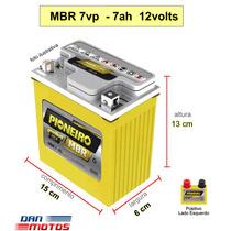 Bateria Moto Cbx 200 Strada Cód. Ref Yuasa Yb 7b-b 12v 7ah