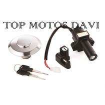 Kit Jogo Trava Chave Ignição Moto Honda Xr 250 Tornado 06/08