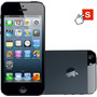 Iphone 5 16gb Preto Apple Ios 6 Wi-fi 3g Desbloqueado - Rev.