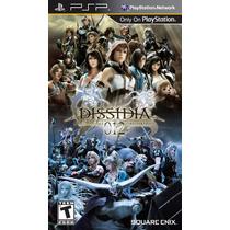 Jogo Lacrado Dissidia 012 Duodecim Final Fantasy Para Psp