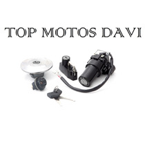 Kit Jogo Travas Chave Ignição Yamaha Ybr / Xtz 125 06/08