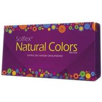 Contato Colorida Lente + Frete + Estojo - Natural Colors
