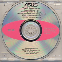Cd Drivers Original Placa Mae Asus Cuv Series M146 Frete Gra