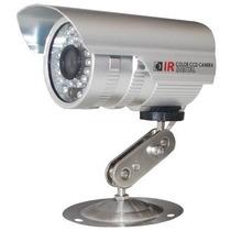 Câmera Segurança 40 Mtsc/sensor Infra-vermelho 36 Leds+fonte