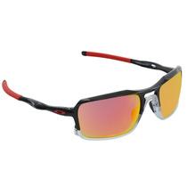 Óculos Masculino Oakley Triggerman Black Ink Ruby Iridium Ex