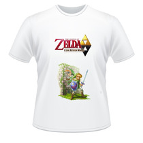 Camiseta The Legend Of Zelda A Link Between Worlds 3ds