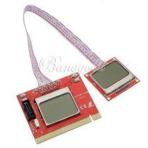 Placa De Diagnostico Pc Visor Lcd Duplo - Dual Lcd