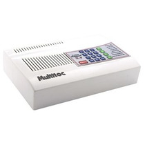 Central De Alarme X4 Multitoc Com Discador E Bateria Interna
