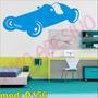 Adesivo Mod D156 Carro Brinquedo Infantil Corrida Kart