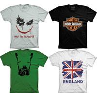 Camiseta England Why So Serious Harley Devidson Playboy Cccp