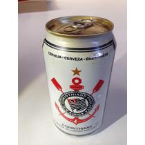 Lata De Cerveja Do Corinthians Antiga Coleção Clubes Lacrada