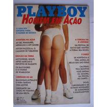 Playboy Especial Nº 168-a Julho 1989 Homem Em Ação