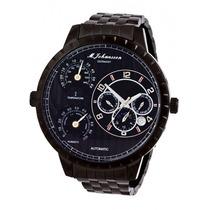 Relógio Masculino Automático M. Johansson Super Gigantesco
