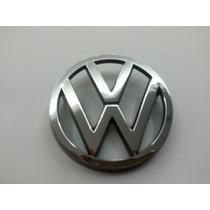 Emblema Vw Volkswagen Cromado Grade G3 Gol Santana Parati