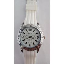 Relógio Importado Branco Marca Coss