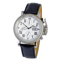 Relógio Masculino Automático Mzi Calendário Coroa Protegida