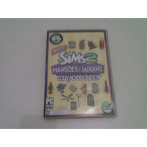 The Sims 2 Mansoes E Jardins Coleçao Objetos 2008