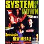 Revista Pôster System Of A Down Raríssima = 52 X 81cm! Soad!