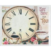 Relógio Decorativo De Parede 40x50