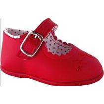 Sapato Sapatinho Social Infantil Vermelho - 17 Ao 22