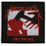Patch Tecido - Metallica - Kill 'em All - Importado