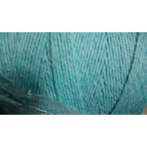 Barbante 8 Fios 1kg Verde Claro Crochê Artesanato Tapete