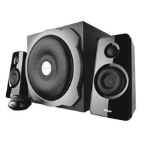 Caixa De Som Subwoofer 2.1 Trust Tytan P/ Pc Mp3 Notebook +