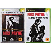 Max Payne (1) E 2 Originais Compat C/ 360 C/hd L A C R A D O