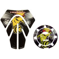 Kit Protetor Tanque Bocal Honda Abelha Hornet