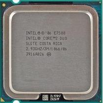 Processador Core 2 Duo 7500 + Cooler + Pasta Térmica