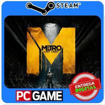 Metro: Last Light Pc Steam Cd-key Global Envio Imediato