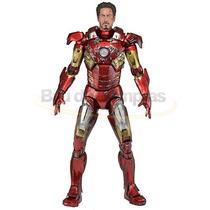 Boneco Action Figure Marvel Iron Man Battle Damaged - Neca