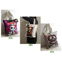 Bolsa Com Caveiras_emily_j.rock_emo_punk_urban_alternativo