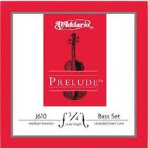Encordoamento P/ Baixo Acústico 3/4 D Addario Prelude J610