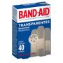 Curativo Band Aid Transparente Com 40 Unidades