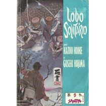 Lote Mangás Lobo Solitario Editora Sampa Nºs 9, 7, 2 E 8