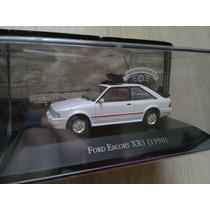 Ford Escort Xr3 1990 - Carros Inesquecíveis Do Brasil 1:43