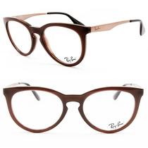 Armação Óculos Grau Ray-ban Feminino 100% Original - Rb7070l