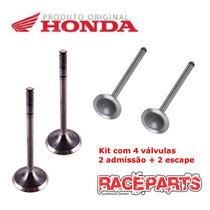 Kit Válvula Admissão + Escape Original Honda Twister Tornado