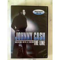 Dvd + Cd Johnny Cash - The Line - Walking With A Legend