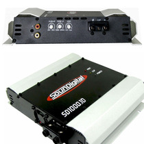 Modulo Amplificador Soundigital Sd 1000w Rms Digital 1 Ohms