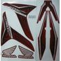 Adesivo Cg Fan 150 2013 Esi Vermelha, Edição Especial