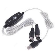 Frete Grátis+cabo Interface Usb Suporte Midi Conversor Audio