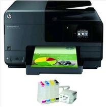 Multifuncional Hp 8610 + Bulk Ink Instalad + Corante Gratis